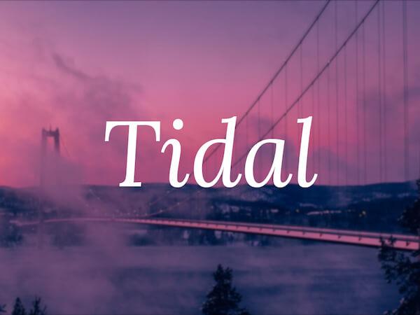 tidal-preview
